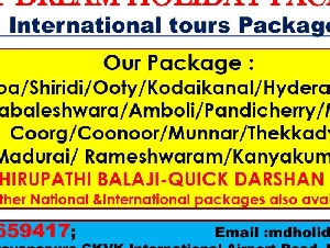Best Dream Holiday Packages